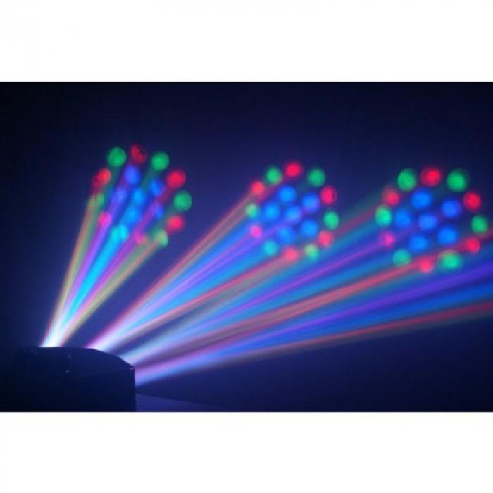 Mini LED 4x Moonflower-kuvio valoefekti