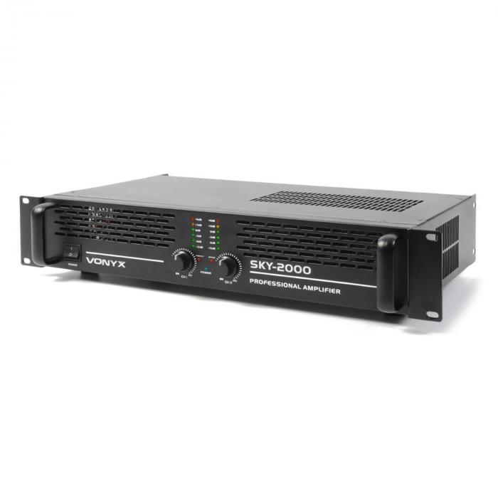 Amplificateur PA Vonyx/Skytec 2000MKII 2000W bridgeable