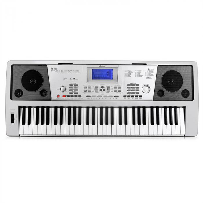"Keyboard-Komplett-Set ""Little Brahms"" USB-MIDI-Keyboard 61 Tasten, Keyboard X-Ständer, Keyboard Bank höhenverstellbar"