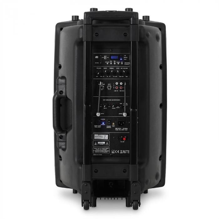 "QR15PA mobiili PA-järj. 38,10cm (15"") akt.kaiutin 250W"