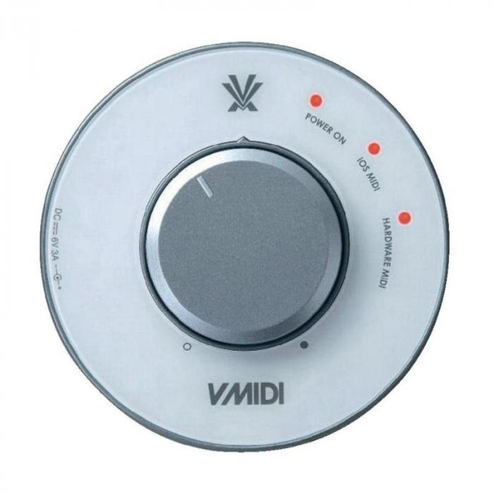 V-MIDI Interfaccia MIDI dispositivi iOS