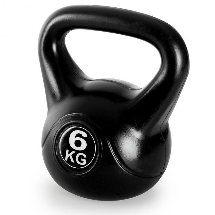 Kettlebell peso sfera con manico 6kg