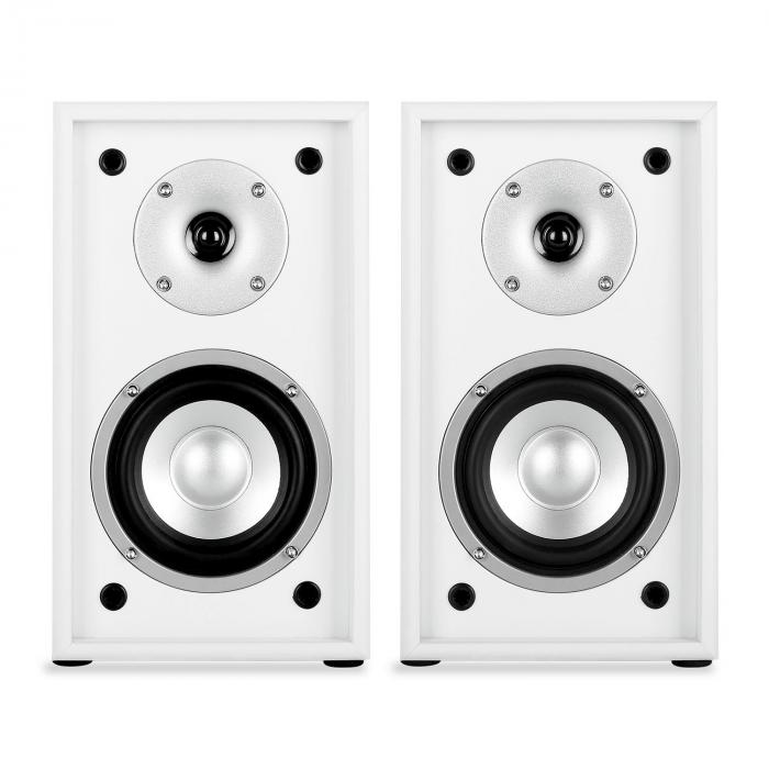 Line 300-SF-WH 2-Way Passive Bookshelf Speakers Pair 150W White