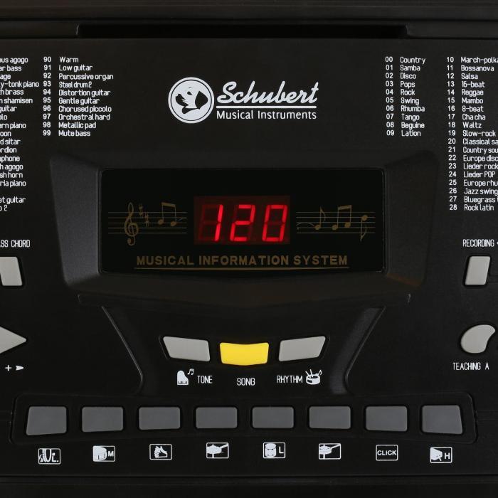 Ètude-61B keyboard 61 kosketinta musta