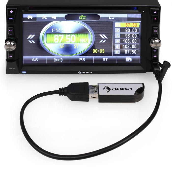 MVD-481 monitoriautoradio DVD CD MP3 USB SD HD 6,2''