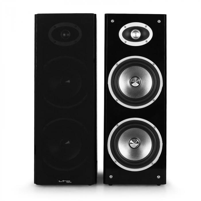 "3D-BT Karaoke Star hifi-järjestelmä bluetooth USB 80 W RMS 16,5 cm (6,5"") kaiuttimet"