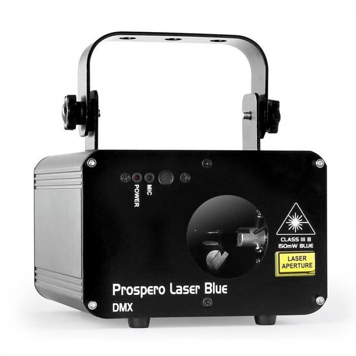 Prospero Show-Laser Blau DMX MIC