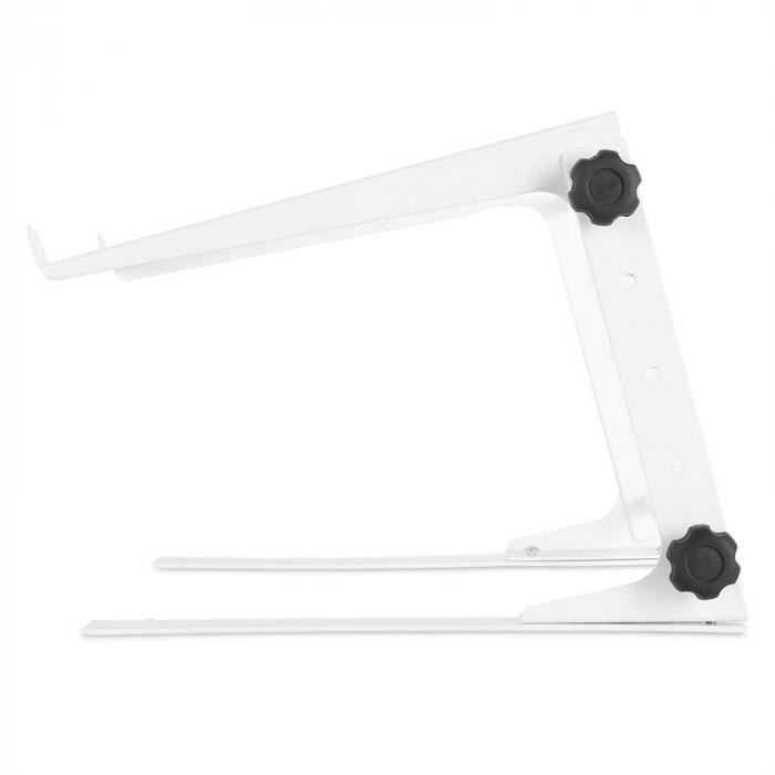 1Lap laptop/mikseri/kontrolleri-teline valkoinen