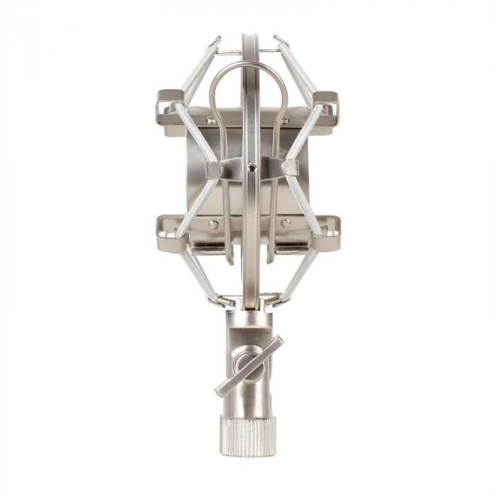 SP-2 attacco a ragno microfono metallo argento 4 pezzi