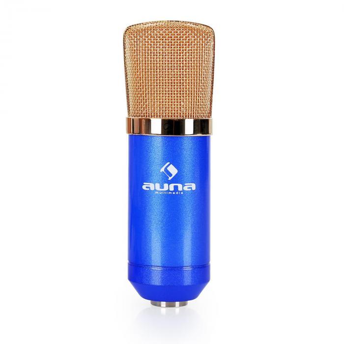 Lava- & studio-mikrofonisetti CMBG001B mikrofoni, teline ja mikrofonisuoja