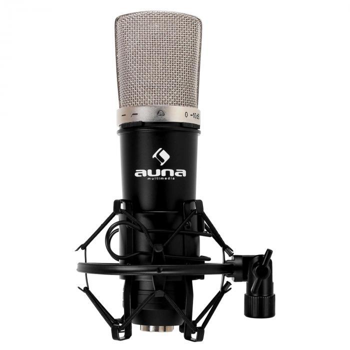 CM003 Set Microfono V5 Condensatore XLR Braccio nero