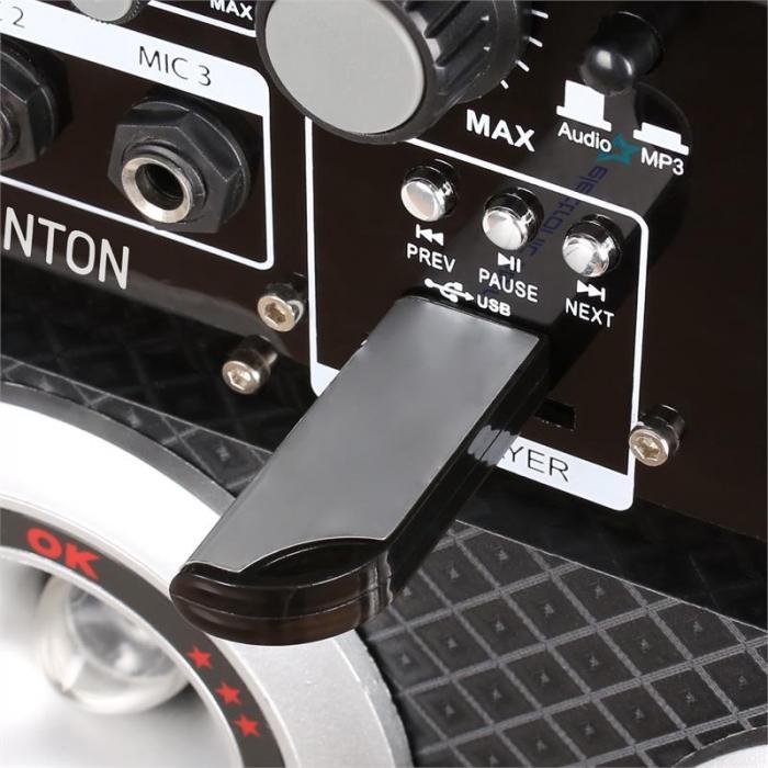Skytec KA-06 set di altoparlanti karaoke 400W