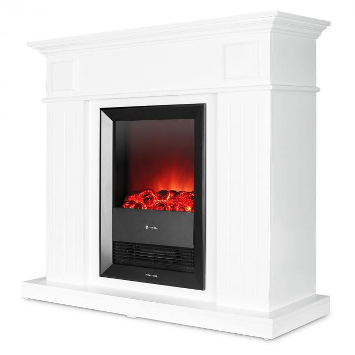 chamonix elektrischer kamin heizl fter 2000 w thermostat wochentimer fernbedienung online. Black Bedroom Furniture Sets. Home Design Ideas