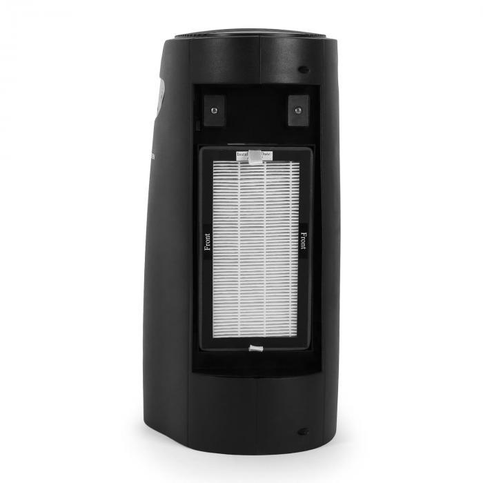 vita pure noir luftreiniger aktivkohlefilter hepa filter ionisator uv 35 w schwarz online. Black Bedroom Furniture Sets. Home Design Ideas