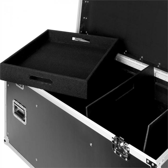 Transport Flight Case Box Multiplex 118 x 61 x 58cm Bodenrollen
