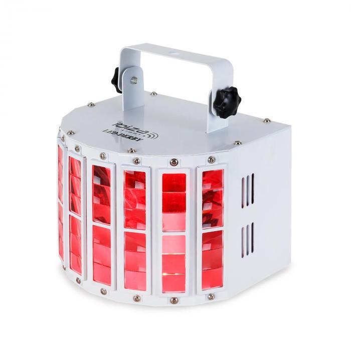 LED-Derby LED-valoefekti DMX RGBW