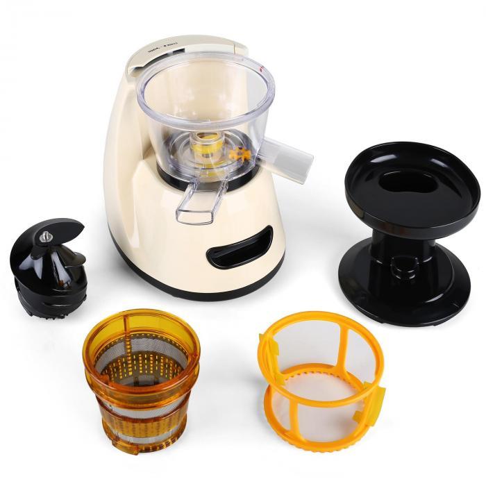Fruitpresso Slow Juicer Von Klarstein : Fruitpresso Bella Morena Slow Juicer Saftpresse 150W 70 U/min Creme online kaufen elektronik ...