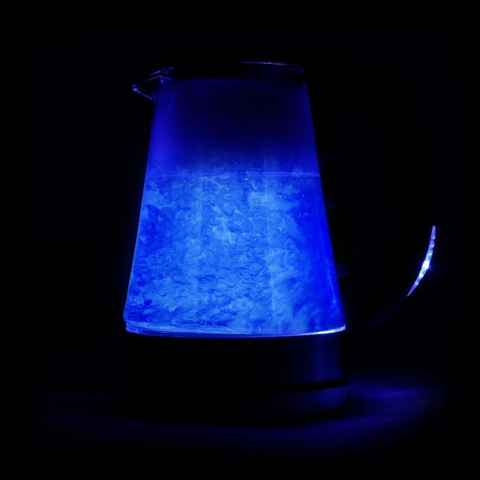 Blue Lagoon Bollitore acqua 1,7L 2200W nero