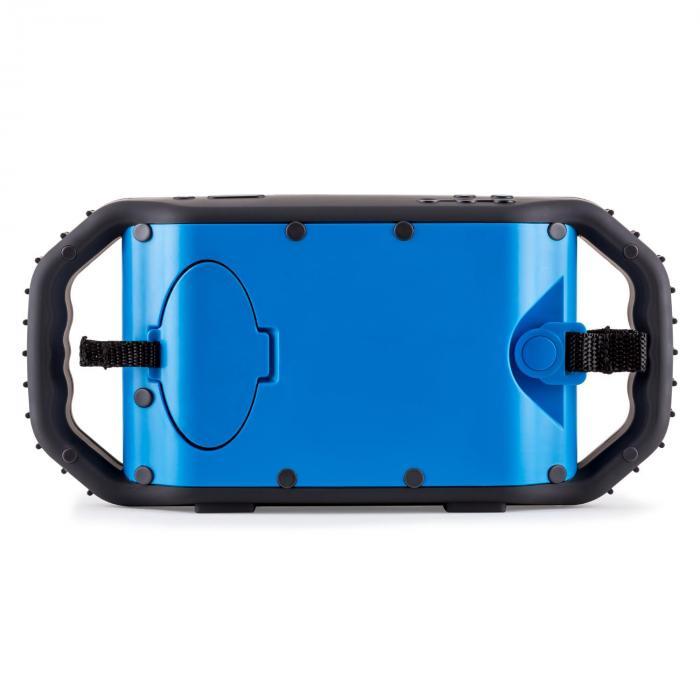 Poolboy Bluetooth-kaiutin USB AUX vedenkestävä sininen