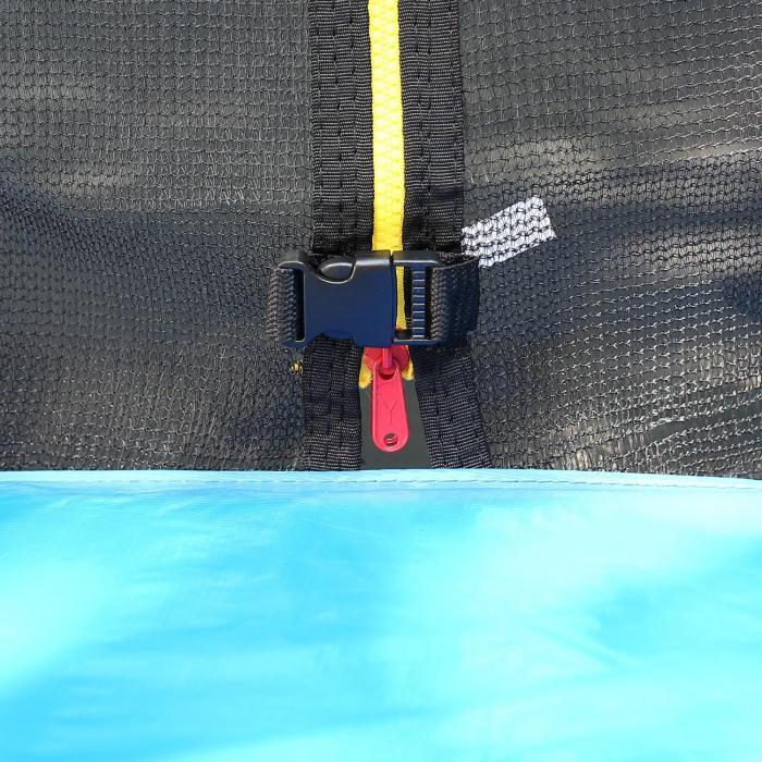 Rocketboy XXL trampoline 305cm veiligheidsnet aluminium ladder regensche