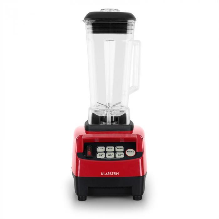 Herakles 5G mixer rojo con cover 1500W 2,0 PS 2 litros libre de BPA