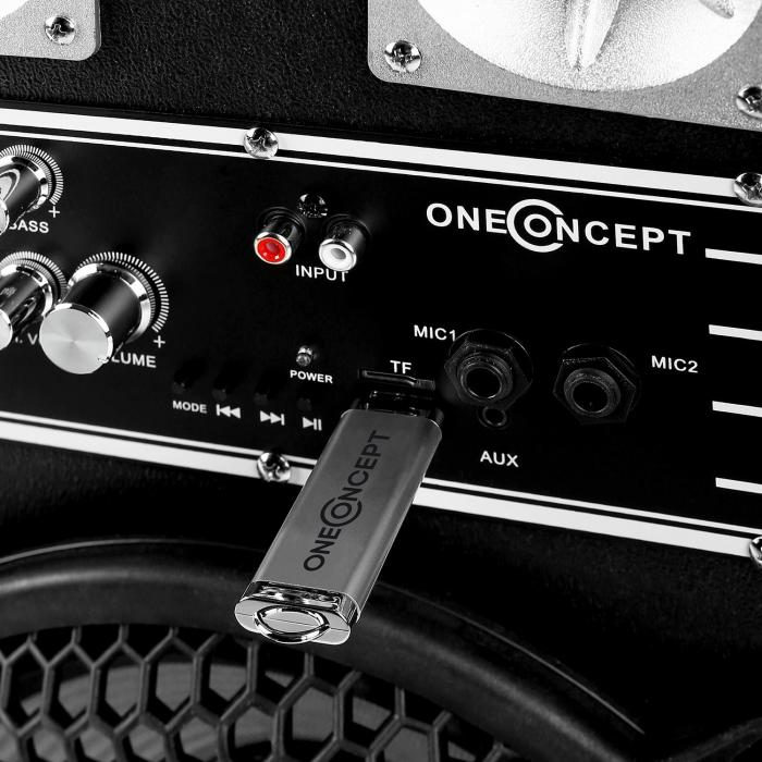 "Impianto Karaoke ""STAR-10A"" Set Casse PA Attive   Set Microfono Wireless 2 Canali"