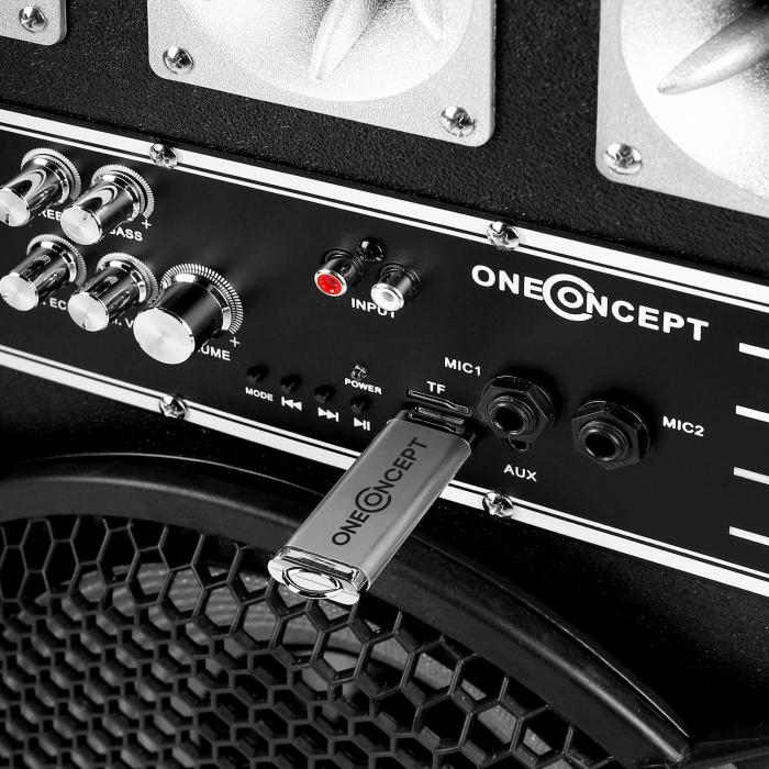 "Impianto Karaoke ""STAR-12A"" Set Casse PA Attive | Set Microfono Wireless 2 Canali"