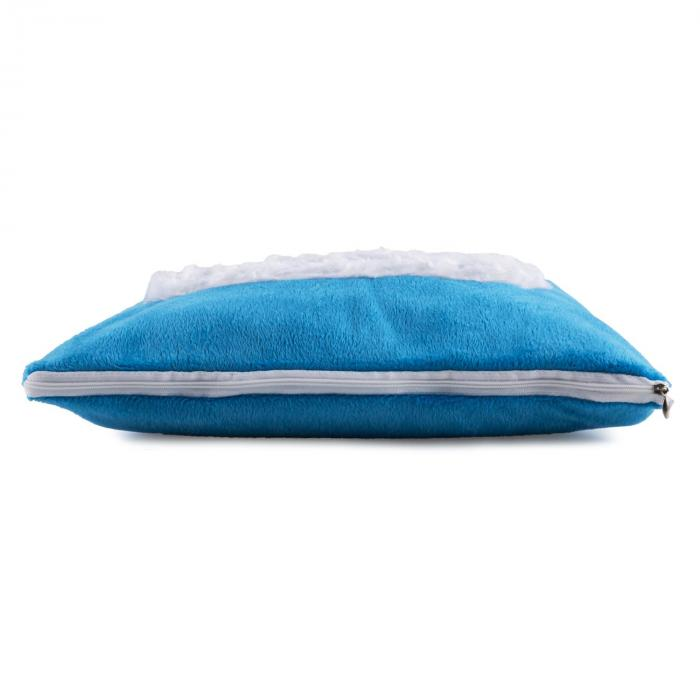 Winter Dreams Cuscino Riscaldante 45W 35 x 35 Cm Pile Blu