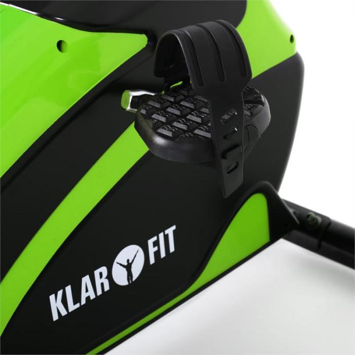 Relaxbike 5G cyclette Recumbent Bike 100kg verde nera