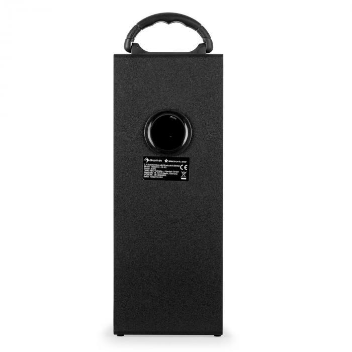 Beachboy XXL Bluetooth Speaker Silver USB SD AUX FM