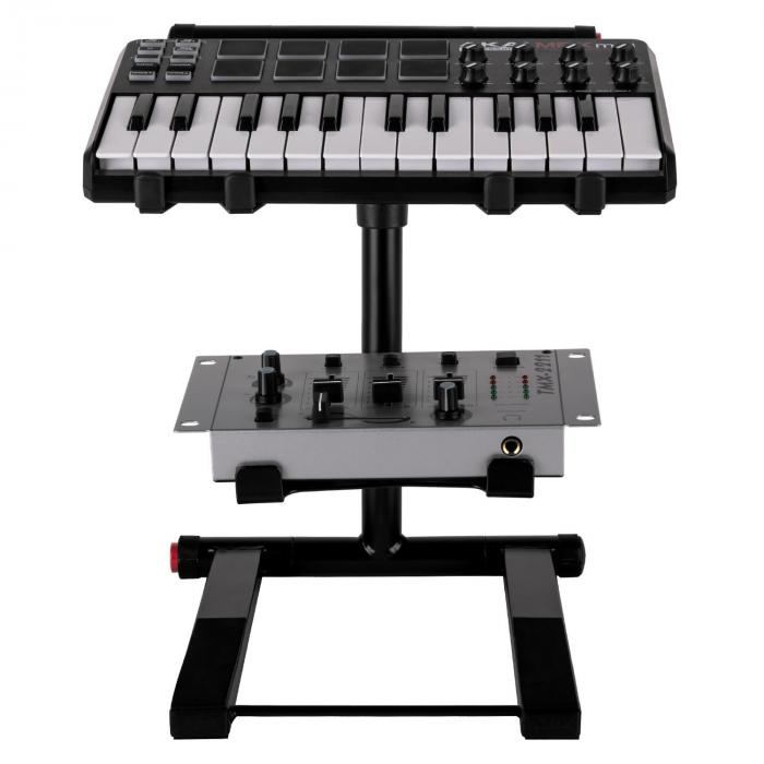 SLAP 200 doppio supporto per laptop DJ nero