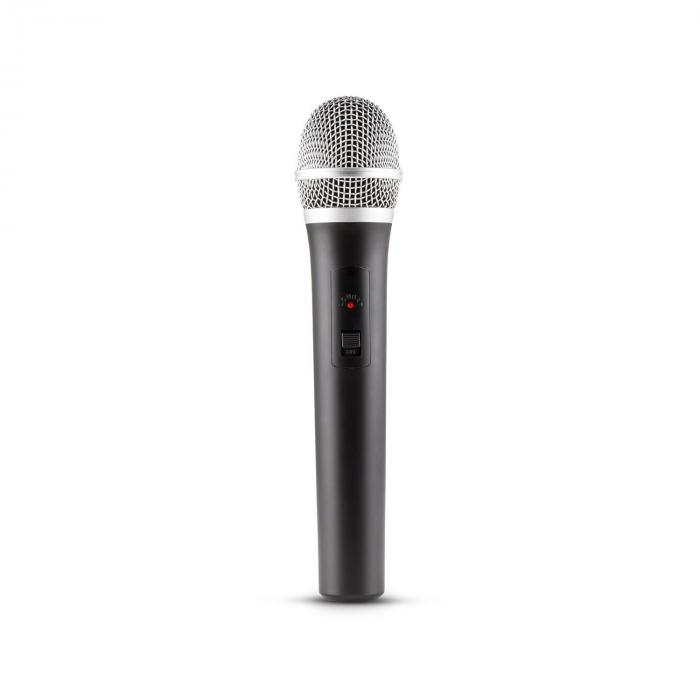 Duett Quartett Fix V1 Juego micrófonos inalámbricos UHF 4 canales 50 m