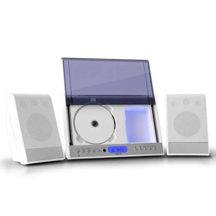 Vertical 90 Stereoanlage CD USB MP3 SD AUX weiß