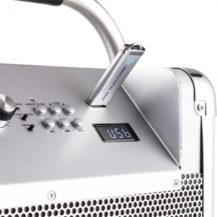 Rock Fortress PA System + UHF 250 Wireless Microphone Set PA-Box Microphone Headset