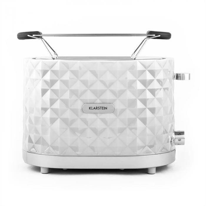 Granada Bianca Toaster 2 Slots 1000 W White