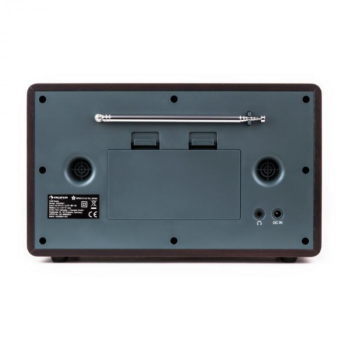 Charleston DAB + Portable Digital Radio + FM RDS Alarm Clock