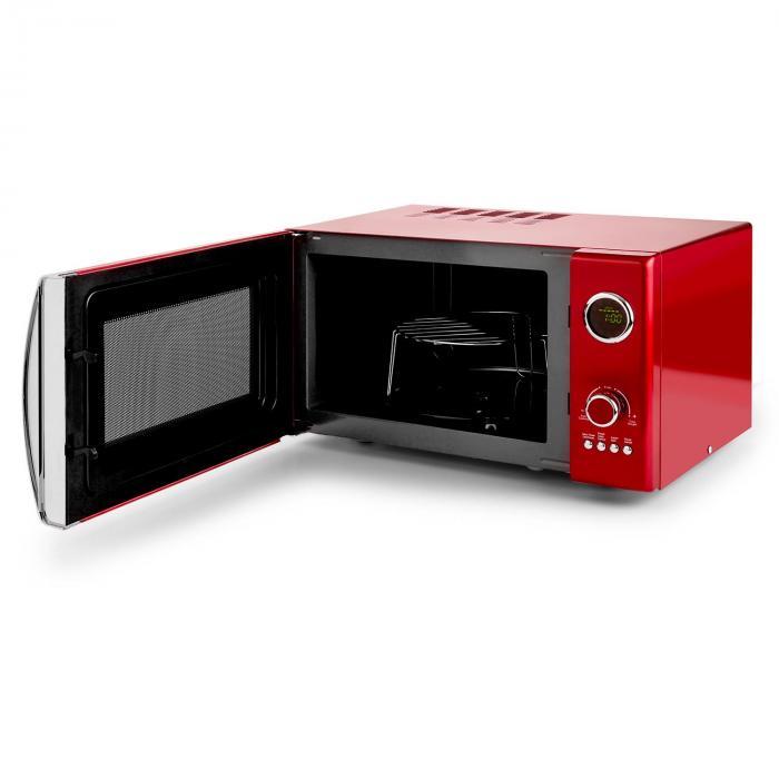 Fine Dinesty 2in1 Forno Microonde 23l 800w Rosso