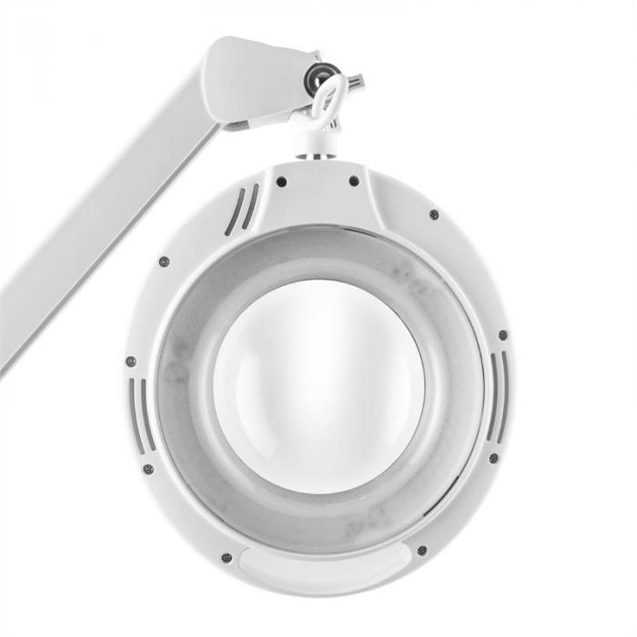 TeleLux lupa 60 x SMD-LED 6W 3/5dioptrii biała