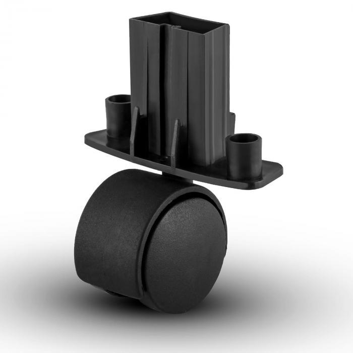 Pohjapyörät Powerplus-puutarhaimurille 4 kpl varaosa