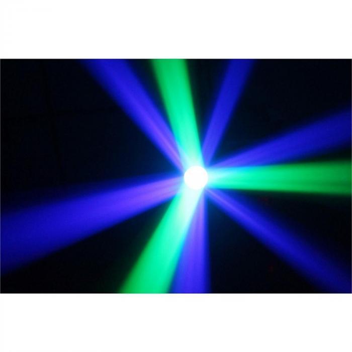 Moon Flower 60 Clear valoefekti RGBAW-LED mikrofoni