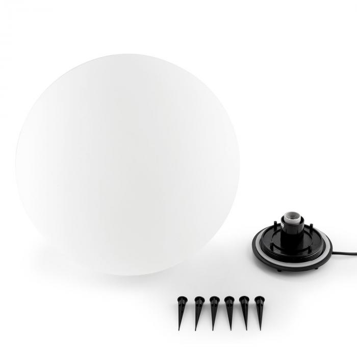 Shineball L Globe Lamp Outdoor Garden Light 50cm White