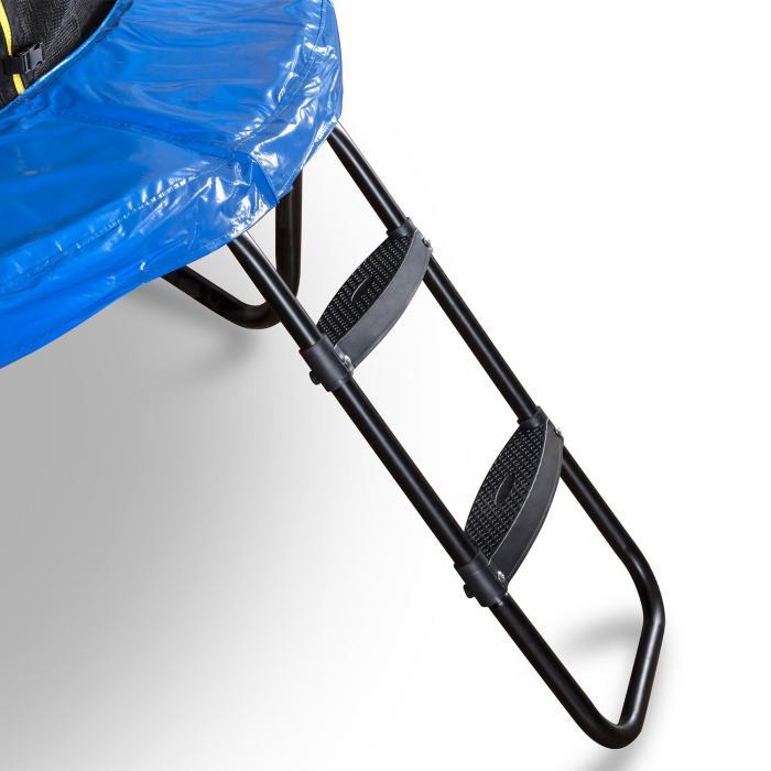 Rocketboy 366 trampoliini 366 cm turvaverkko, tikkaat, sininen