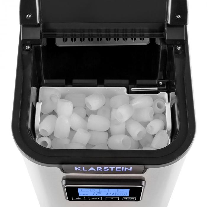 Icemeister Ice Maker 12kg / 24h Stainless Steel