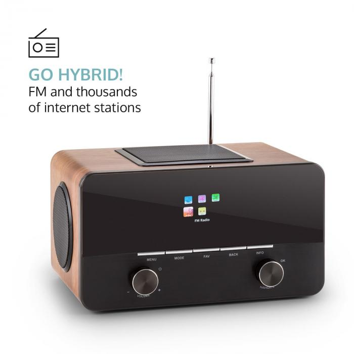 Connect 150 WD 2.1-internetradio mediasoitin Spotify Connect WLAN LAN USB DAB+ FM