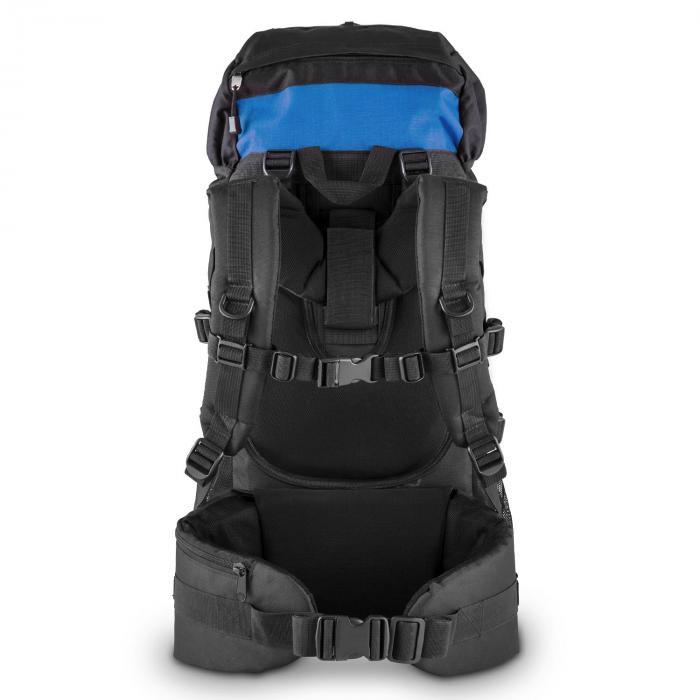 Thurwieser RD Trekking-Rucksack 55 Liter Nylon wasserfest blau