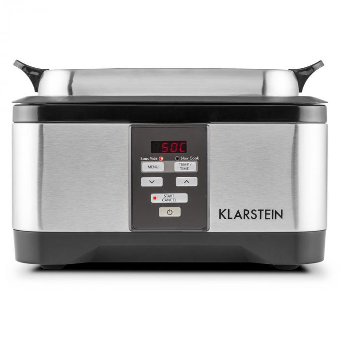 Tastemaker Sous-vide Garer Slow Cooker 6l 550 W Edelstahl silber