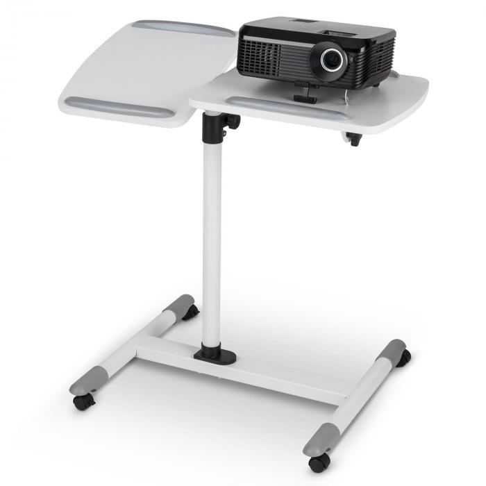 TS-5 Tavolo Per Proiettore 2 Superfici max. 10 kgCon Ruote