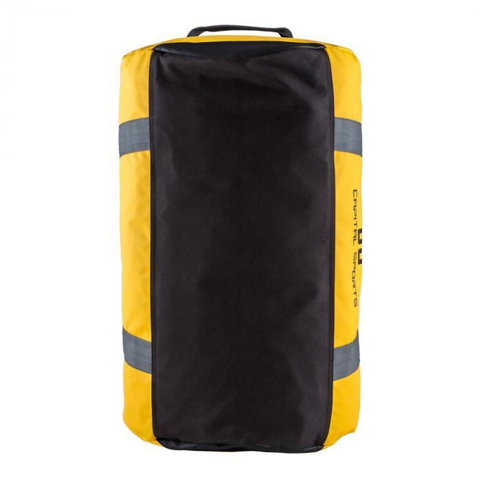 Travel M Sporttasche 60l Duffel reppu vedenkestävä keltainen
