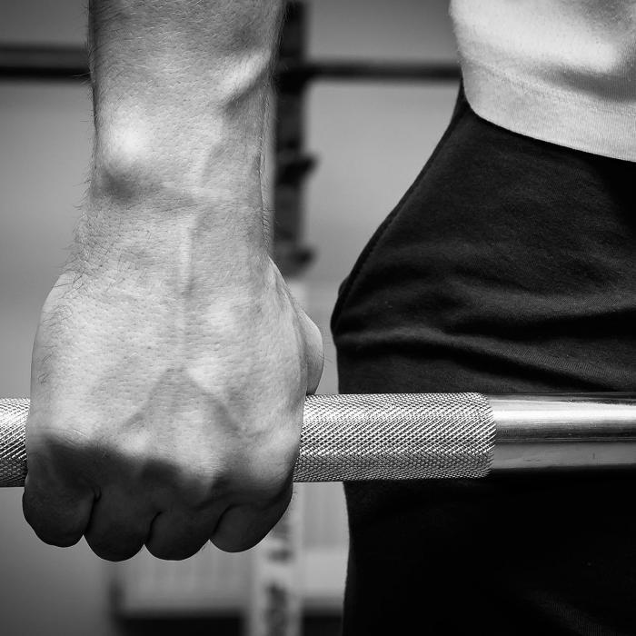 Lionbar Langhantelstange Olympic Bar Men 220cm 20kg
