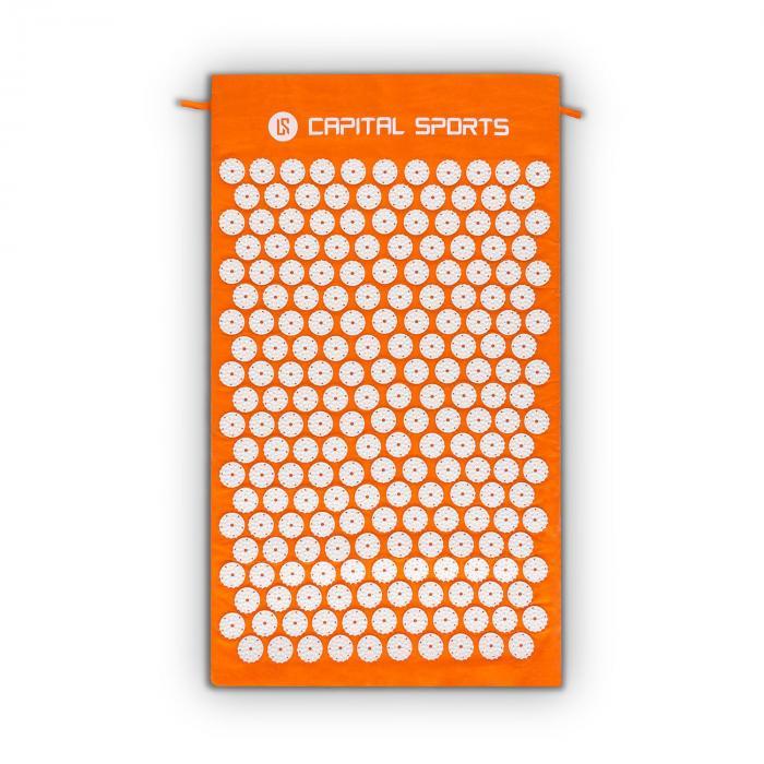 Repose yantramat massagemat acupressuur 70x40cm oranje